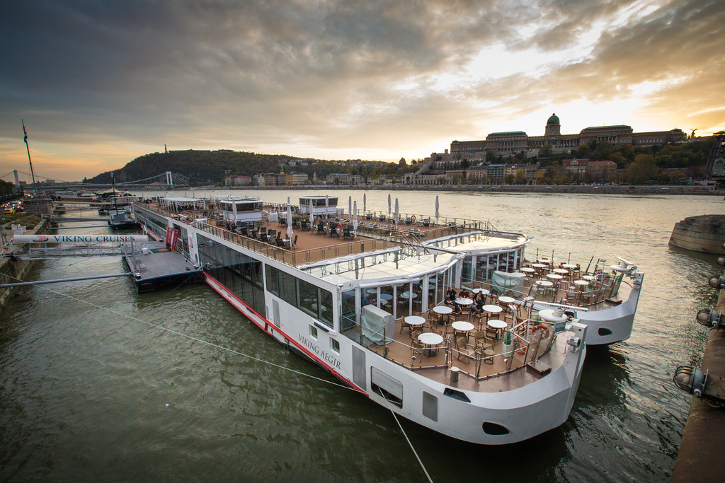 Our boat, the Viking Bragi, is very conveniently, docked right in the heart of Budapest on our Viking River Cruise Grand European Tour