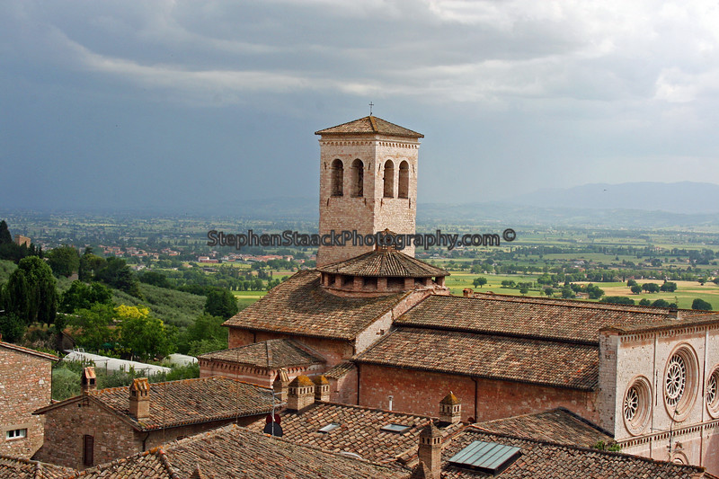 Church located in Assisi, the birthplace of St. Francis.