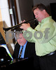 PWR ATTY 2013<br /> Business Press's own Bob Francis and his brother entertain the crowd.