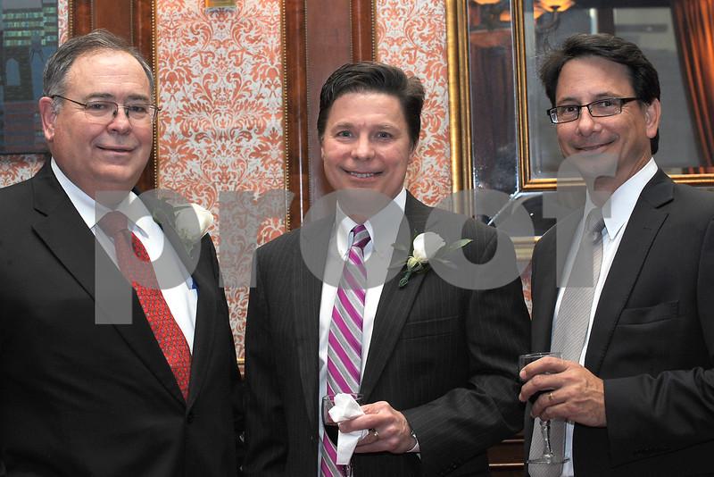 POWER ATTY DINNER 2013<br /> NOMINEES BOB LEONARD, PAUL JOHNSON, and fellow attorney WES MANESS