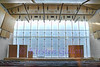 Kimball Piano Pavilion<br /> A view into the auditorium through the glass.