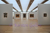 Renzo Piano Pavilion<br /> View upon entering the South Gallery that contains the European Old Masters, Pre-1800.  Specially designed scrims run along the ceiling to help keep the right amount of light in the room.