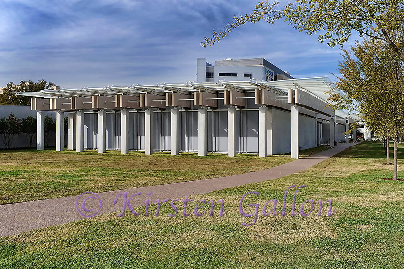 Kimball Piano Pavilion<br /> The south face of the main building where you enter into the museum.