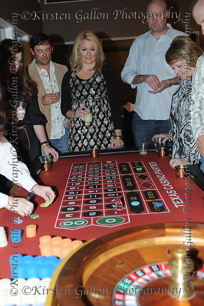 Project 4031<br /> NIKKI THOMPSON watches the roulette wheel to see if her number wins.