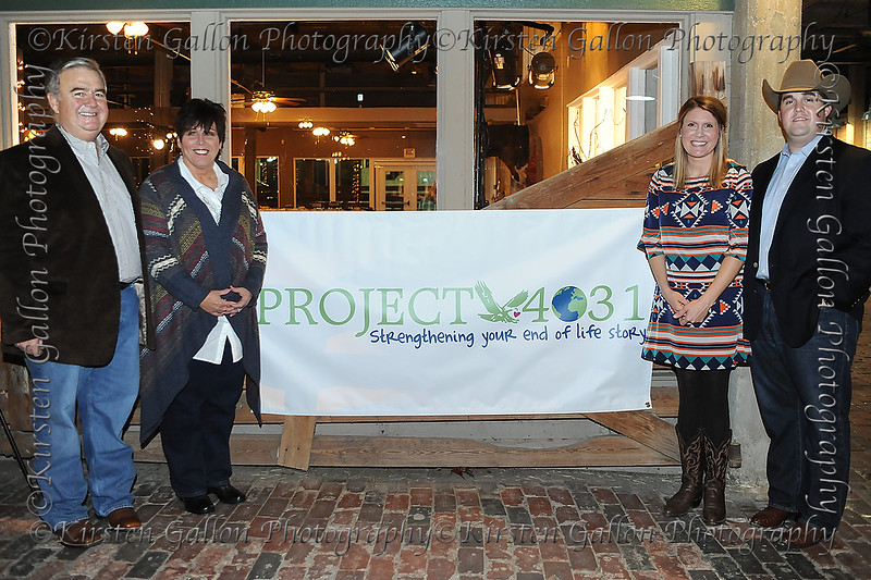 Porject 4031 Hospice Foundation<br /> GEORGE ROBERTSON, KATHY ROBERTSON, KRISTINA ROBERTSON, JOSH ROBERTSON