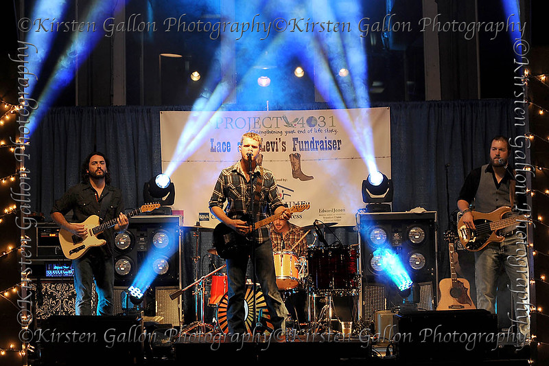 Project 4031<br /> SAM RIGGS AND THE NIGHT PEOPLE were the headliners for entertainment at the event.