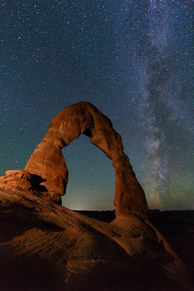 Doreen Miller_02 Delicate Arch Milky Way_F