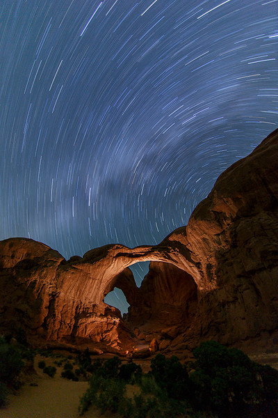 Doreen Miller_03 Double Arch Star Trails_F