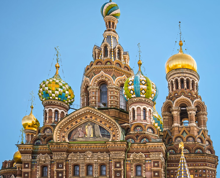 The Church of Spilled Blood - St Petersburg, Russia