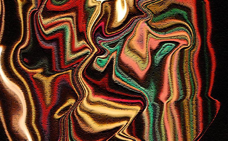 Sue Lindell -textured closeup