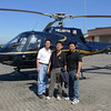 The helicopter we used, accompanied by two buddies, TL Yip and SM Chan