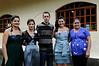 Dimas Aliprandi avec ses quatre soeurs de creation Ruth, Alice, Aline et Catiana, Espiritu Santo, Bresil, Mai 19, 2012.  (Austral Foto/Renzo Gostoli)