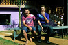 Elton Plaster et Dimas Aliprandi chez les Plaster, Espiritu Santo, Bresil, Mai 20, 2012.  (Austral Foto/Renzo Gostoli)