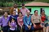 Famille Aliprandi + Vanessa, debout a gauche, femme de Dimas Espiritu Santo, Bresil, Mai 19, 2012.  (Austral Foto/Renzo Gostoli)