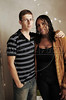 Dimas Aliprandi chez lui avec sa femme Vanessa, Espiritu Santo, Bresil, Mai 18, 2012.  (Austral Foto/Renzo Gostoli)