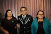 Elton Plaster avec sa mere de creation, a gauche, et sa mere biologique, a droite, Espiritu Santo, Bresil, Mai 19, 2012.  (Austral Foto/Renzo Gostoli)