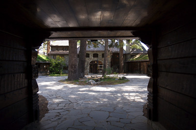 Courtyard Entry, Vikingsholm