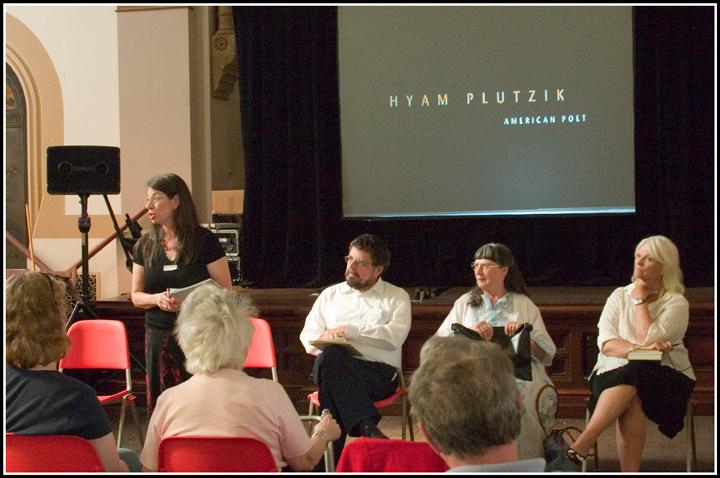 Left to right, Sarina Berlow, Bernie Berlow, Miriam Kiss, Karen Blomain.