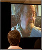 The film begins - on the screen is Donald Hall reading from the collected works of Hyam Plutzik