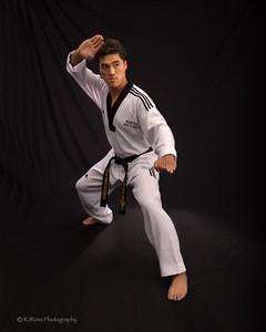 Promo shot, Master Shim's TaeKwanDo dojo
