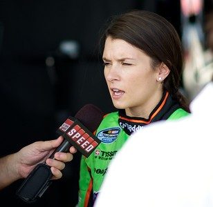 Example: available natural lighting (NASCAR driver Danica Patrick)