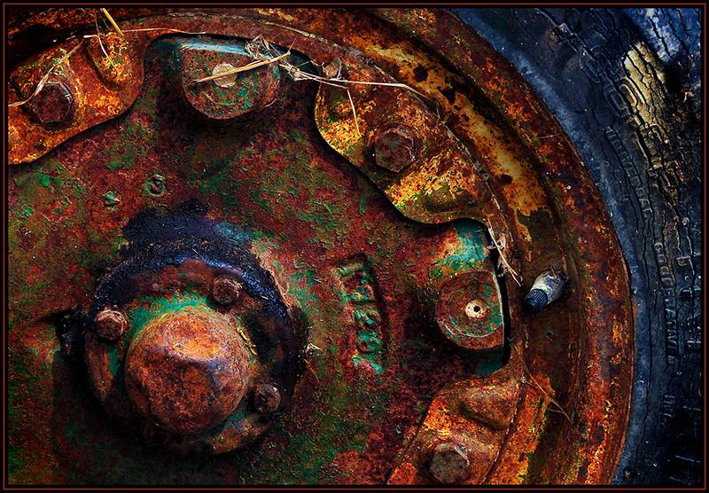 Marie Rakoczy3 - Tractor Wheel