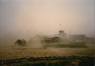 Wind & dust storm