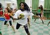 CLARIN 03- CON NOTA DE ELEONORA GOSMAN - Alumnos en clase de danza en la sede  de Afroreggae en el barrio Grota, Complexo do Alemao, Rio de Janeiro, Brasil,  Octubre 30, 2009.  (Austral Foto/Renzo Gostoli)