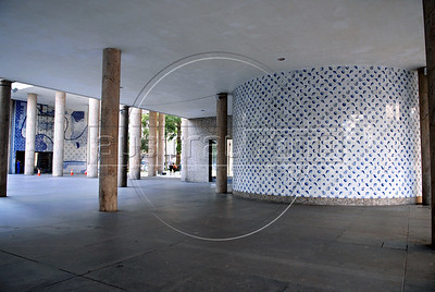 Edificio Capanema,Ministerio de Educacion, Rio de Janeiro, Brasil,  Abril 17, 2008.  ((Austral Foto/Renzo Gostoli))