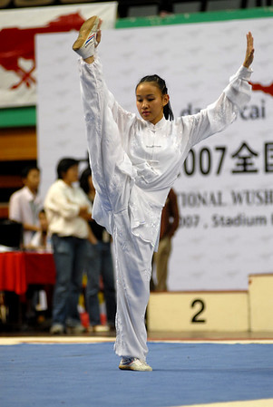 National Wushu competition 2007