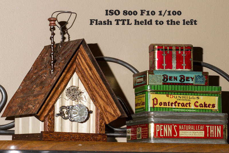 Greg Pickle Flash - Higher ISO