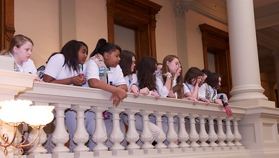 2013 Girl Scouts at the capitol