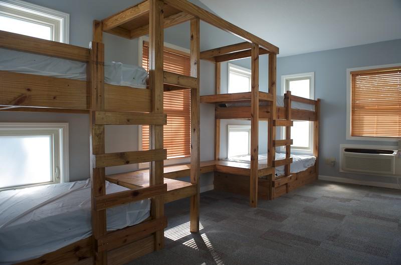'Tree House' bunk area, interior