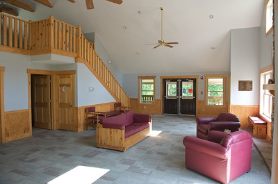 'Tree House' main building interior