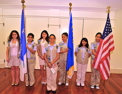 Members of the 2008 Annual Meeting Color Guard