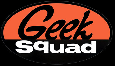 Best Buy's Geek Squad (registered trademark).  The Squad offered tremendous support for the event.