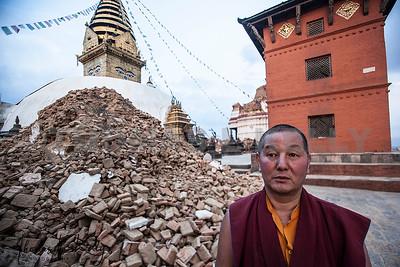 Massive Earthquake Rattled Nepal.