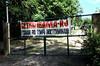 CETAS RJ Centro de Triagem de Animais Silvestres - Cartaz na entrada do CETAS, Pendotiba, Rio de Janeiro, Brasil, Maio 9, 2012.  (Austral Foto/Renzo Gostoli)