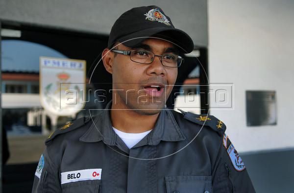 FLUPP -  Belo, aluno da Acadepol, Sulacap, Rio de Janeiro, Brasil, Junho 29, 2012.  (Austral Foto/Renzo Gostoli)