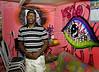 Santa Marta_ Antonio Carlos Prudêncio Júnior. na radio comunitaria Santa Marta,  Rio de Janeiro, Brasil, Marco 14, 2011.  (Austral Foto/Renzo Gostoli)