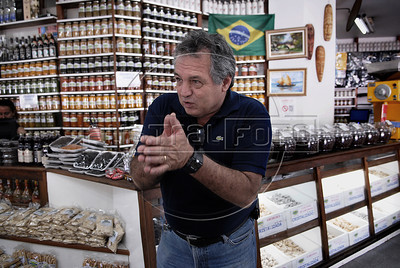 NOVA FRIBURGO UM ANO DEPOIS -  Gilberto Sader, dono de loja na Praca do Suspiro, Nova Friburgo, Rio de Janeiro, Brazil, Janeiro 26, 2012. (Austral Foto/Renzo Gostoli)