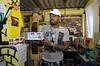 PROJETO MORRINHO -   Cilan Oliveira, 28, na sua casa na comunidade 'Pereirao',  Rio de Janeiro, Brasil, Abril 10, 2012.  (Austral Foto/Renzo Gostoli)