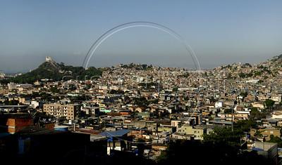General view of Complexo do Alemao, a group of slums, Rio de Janeiro, Brazil, June 24, 2011. (Austral Foto/Renzo Gostoli)