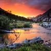 Bubbs Creek Alpenglow