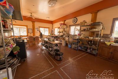Kitchen in the meditation center