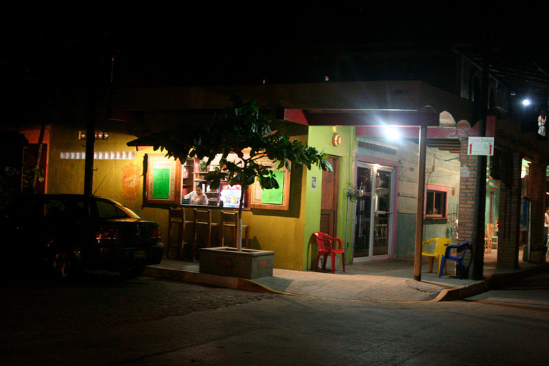 PeterKoch#7-San Pancho at night