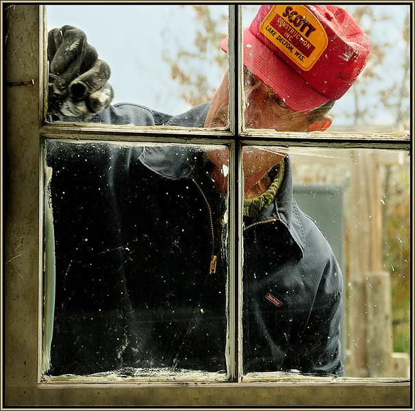 Marie Rakoczy - Window Painter