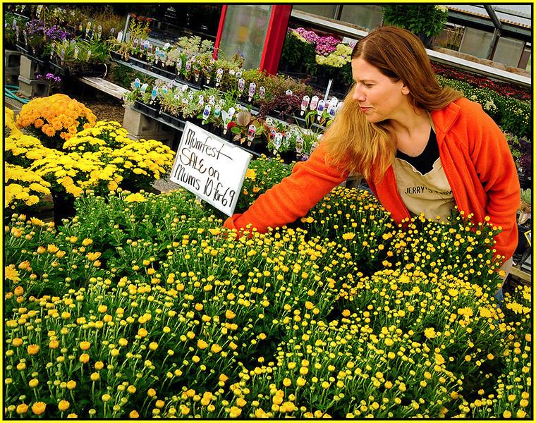 Marie Rakoczy - Flower Shop Worker