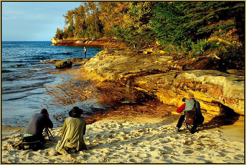 Marie Rakoczy - Photographers at Miners Beach