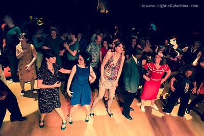 Paris Lindy EXchange - saturday party - Shim sham